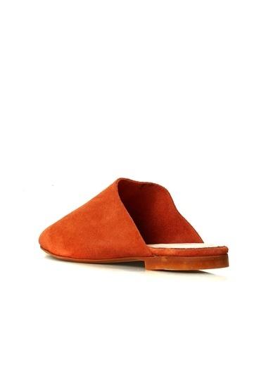 Divarese Divarese 5025321 Kapalı Renkli Kadın Terlik Oranj